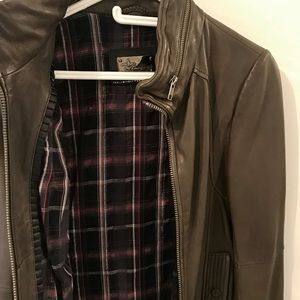 Mackage for Aritzia Leather Jacket